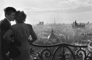Les amoureux de la Bastille, Willy Ronis