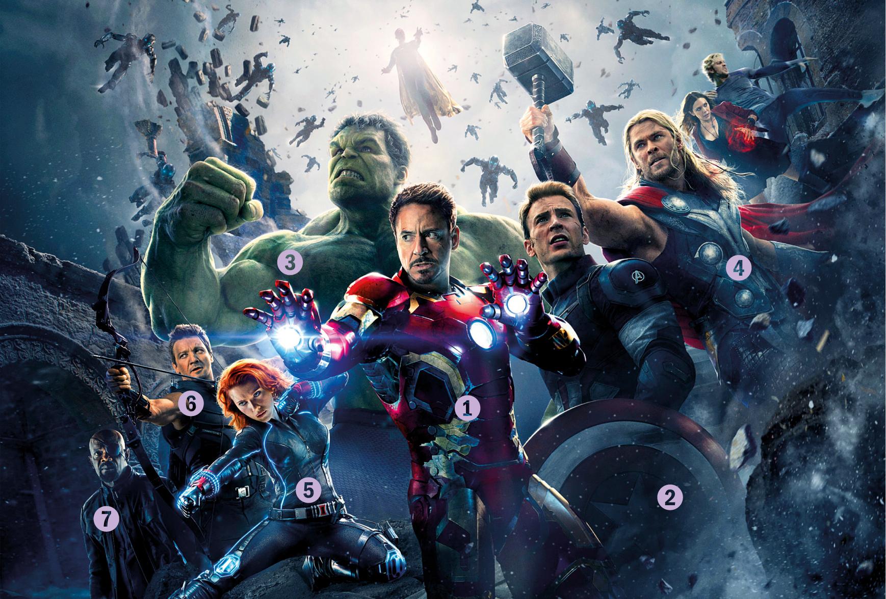 Quem serão os próximos Vingadores?