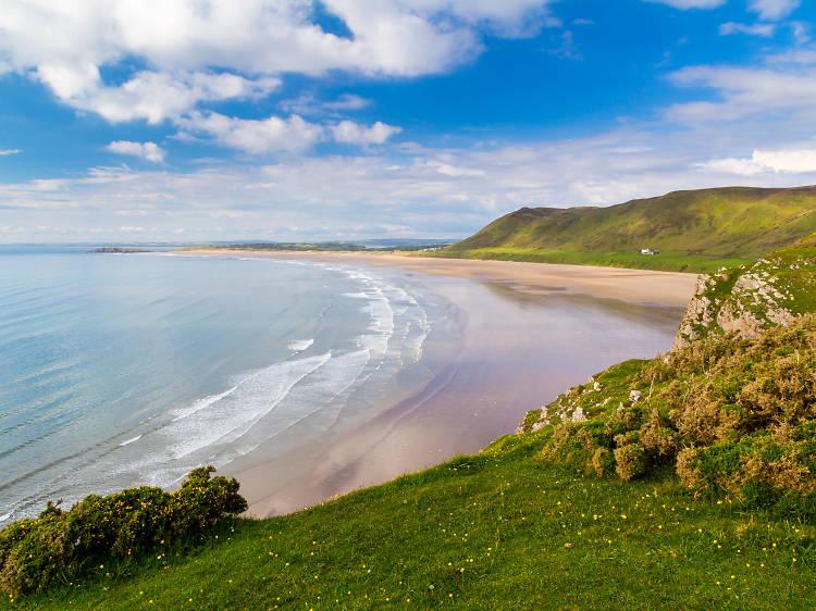 Rhossili Bay, Gower, Wales