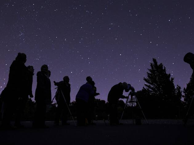 Stargazing shoot at Tyntesfield (NT magazine commission), November 2013.