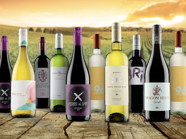 55% off a 12-bottle case of wine from Virgin Wines