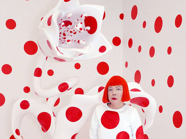 Kuzama: infinito documental de la artista japonesa Yayoi Kuzama