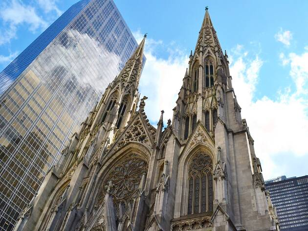 St. Patrick's Cathedral  Attractions in Midtown East, New York