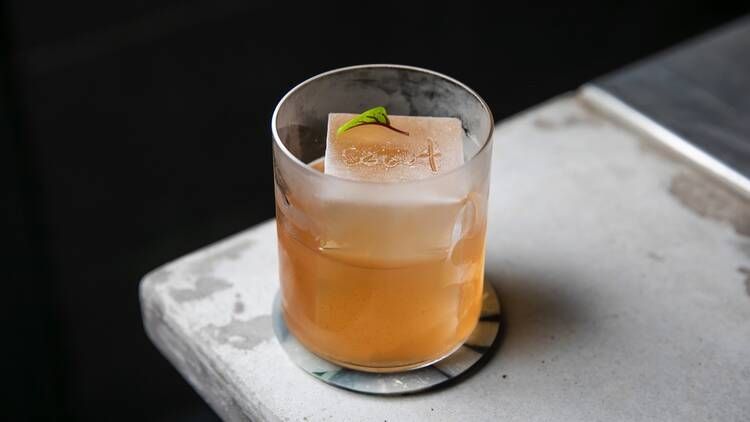 Cocktail at Scout Bar