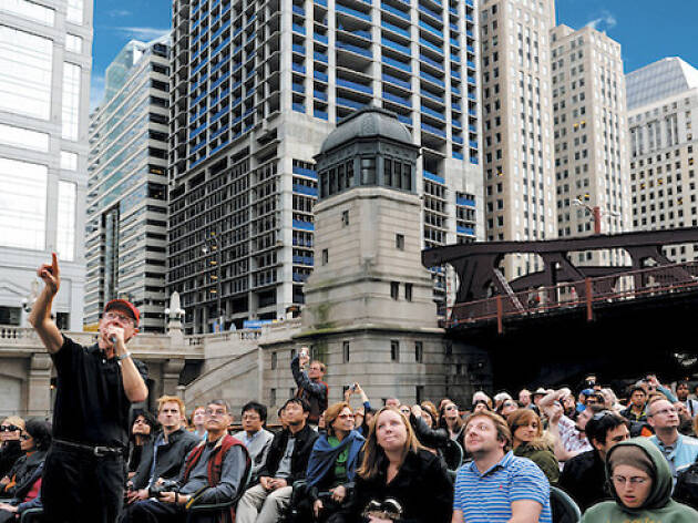 2. Sube a bordo de la Primera Dama de Chicago's First Lady para un tour de arquitectura