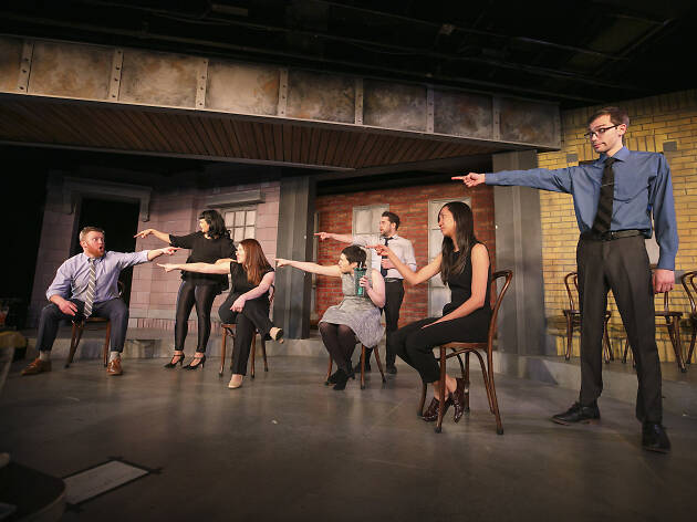 8. Dóblate de risa en Second City