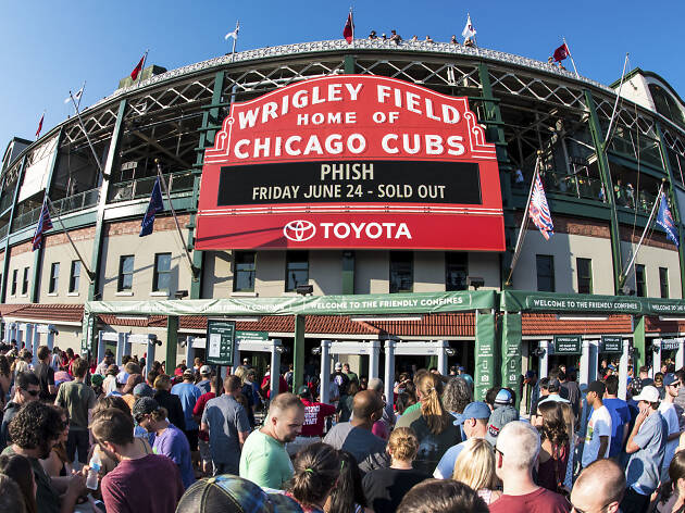 10. Apoya al equipo local en Wrigley Field