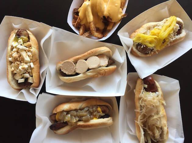 """11. Disfruta de la cocina al estilo de Chicago en Hot """"G"""" Dog"""