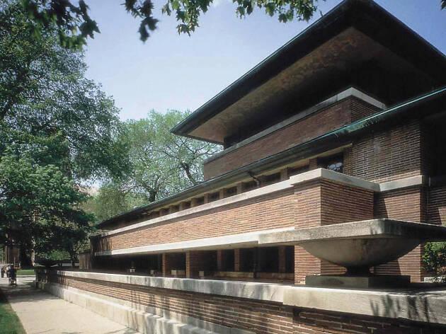 14. Maravíllate ante la arquitectura de Frank Lloyd Wright en la casa Robie