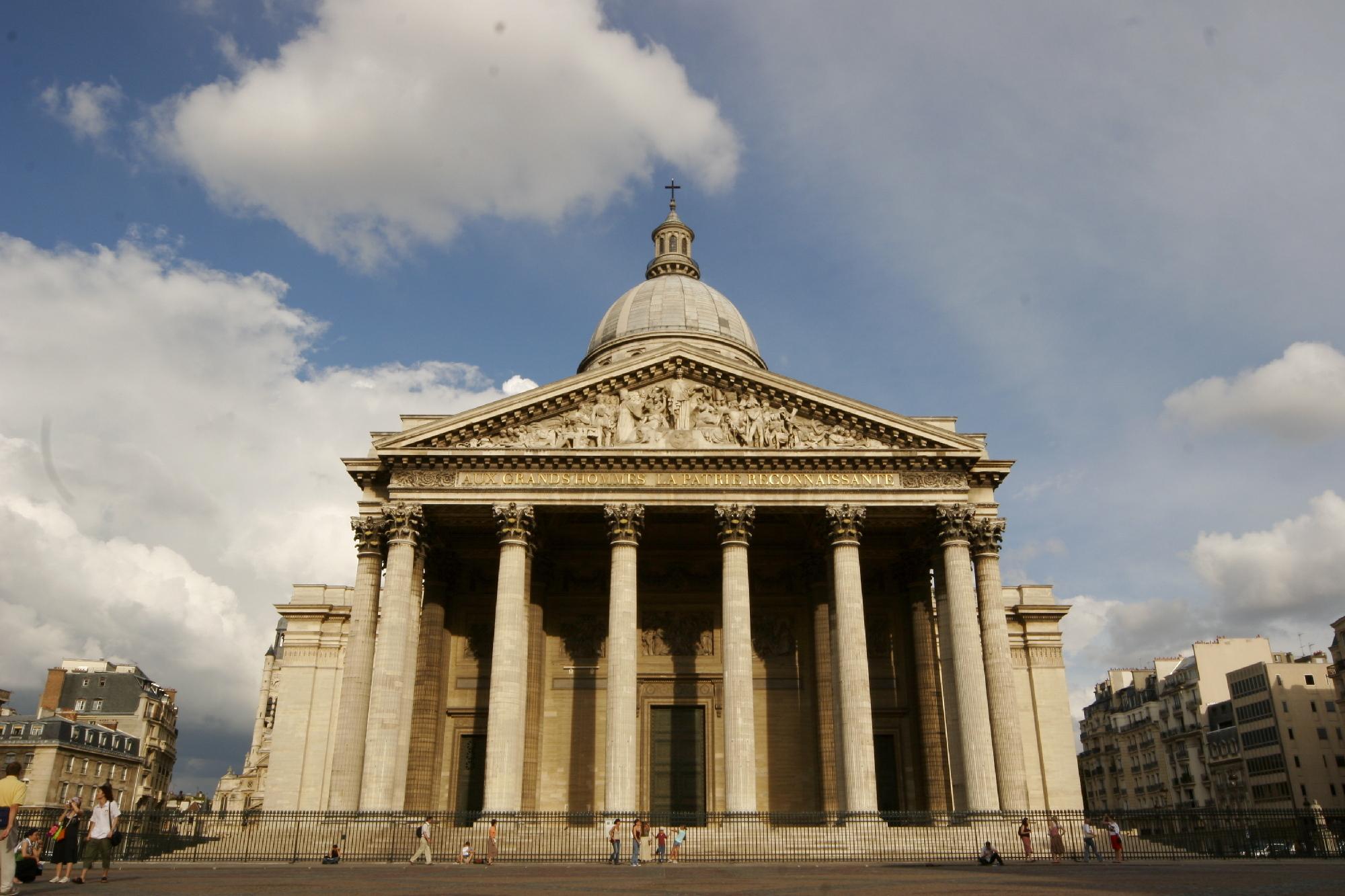 2. Recibe una lección de historia en Le Panthéon