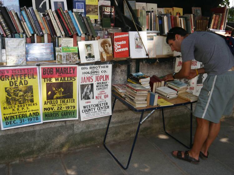 Las librerías de segunda mano a las orillas del Sena
