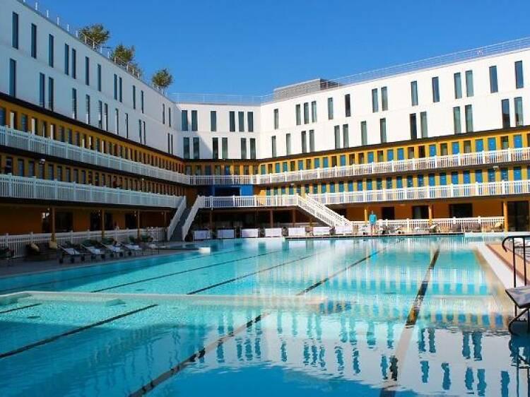 La piscina Molitor