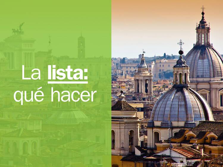 Las 21 mejores cosas para hacer en Roma