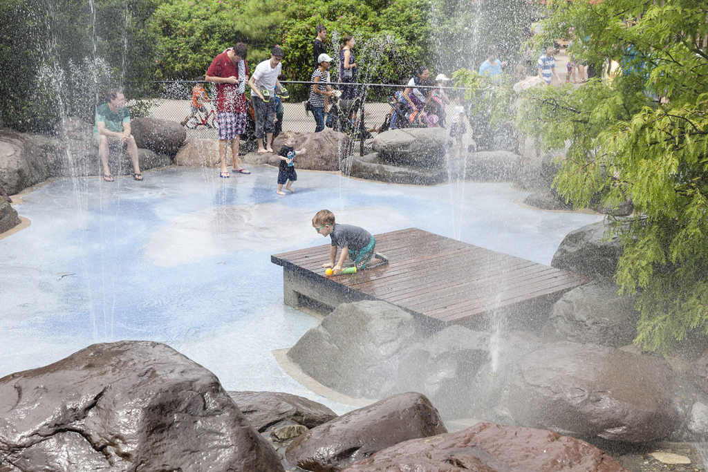Splash pads to visit this summer
