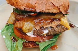Hopdoddy Burger Bar in Playa Vista Playa del Rey Los Angeles California