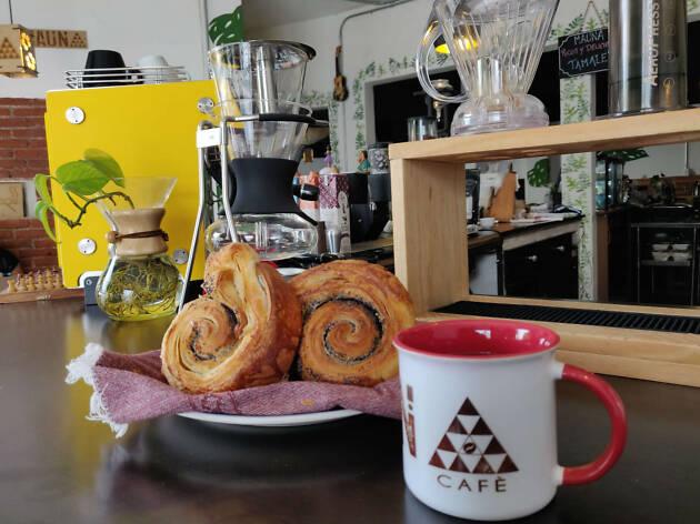 Mauna Café en la Portales con café de especialidad