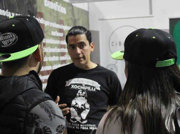 Club Cannabico Xochipilli en la Condesa