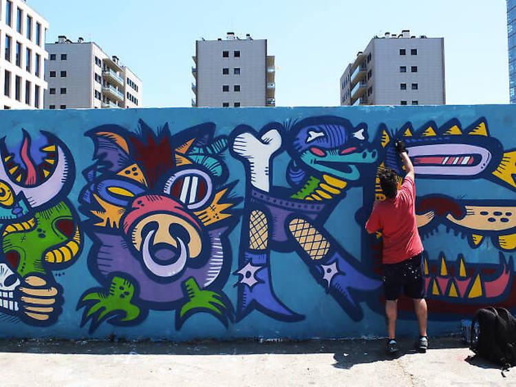 Art urbà... en directe!