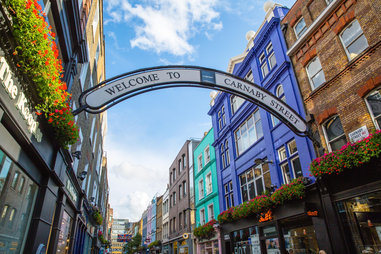 Carnaby Street   Shopping in Carnaby Street, London
