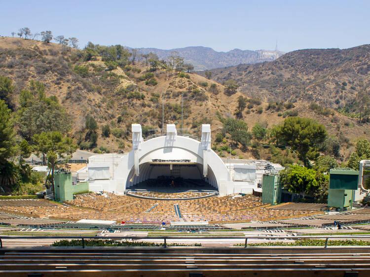 Pícnic en el Hollywood Bowl