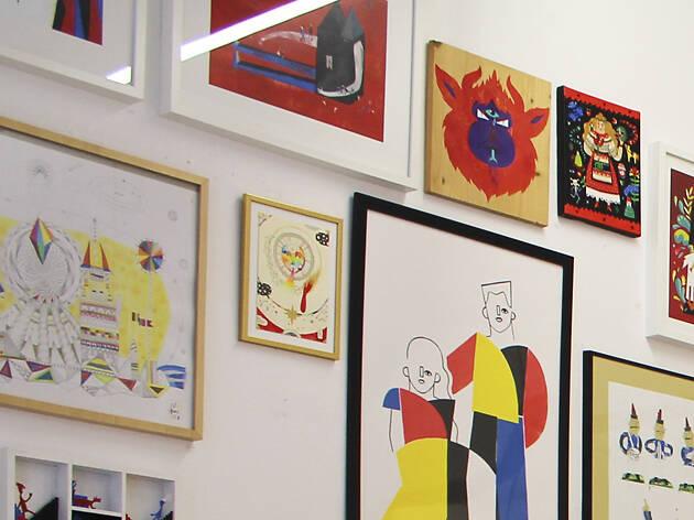 12. Compra ilustración portuguesa en Ó! Galeria