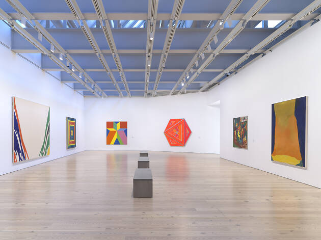 Current exhibits at the Whitney Museum of American Art