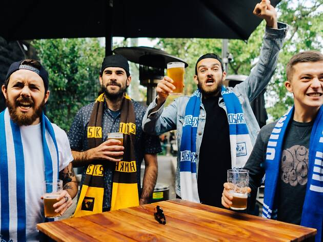 Four reasons to go to Riverland Bar before and after the footy