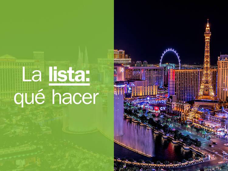 Las 20 mejores cosas para hacer en Las Vegas