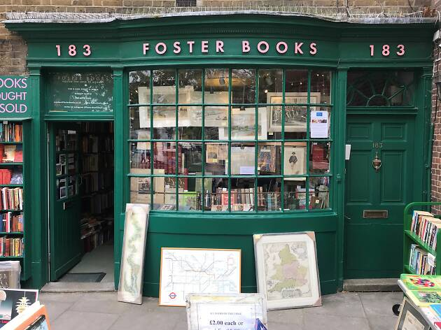 Foster books, London