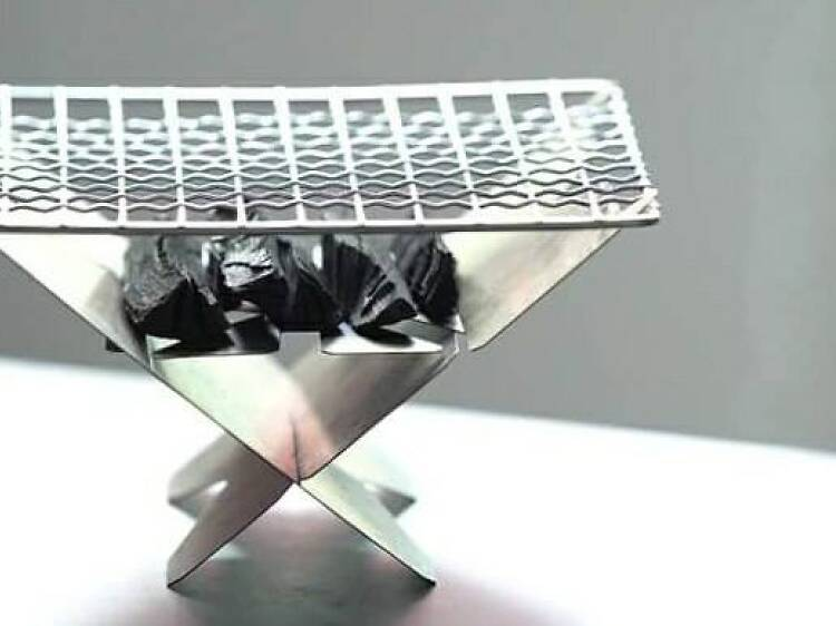 野炊士多:手製燒烤爐