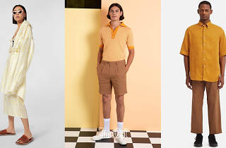 Yellow shopping