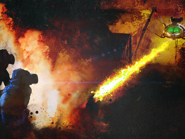Opening week tickets for 'The War of the Worlds'
