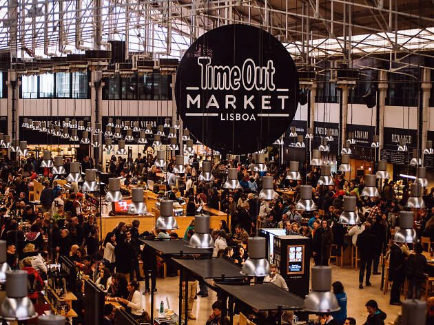 1. Prueba la mejor comida portuguesa en Time Out Market Lisboa