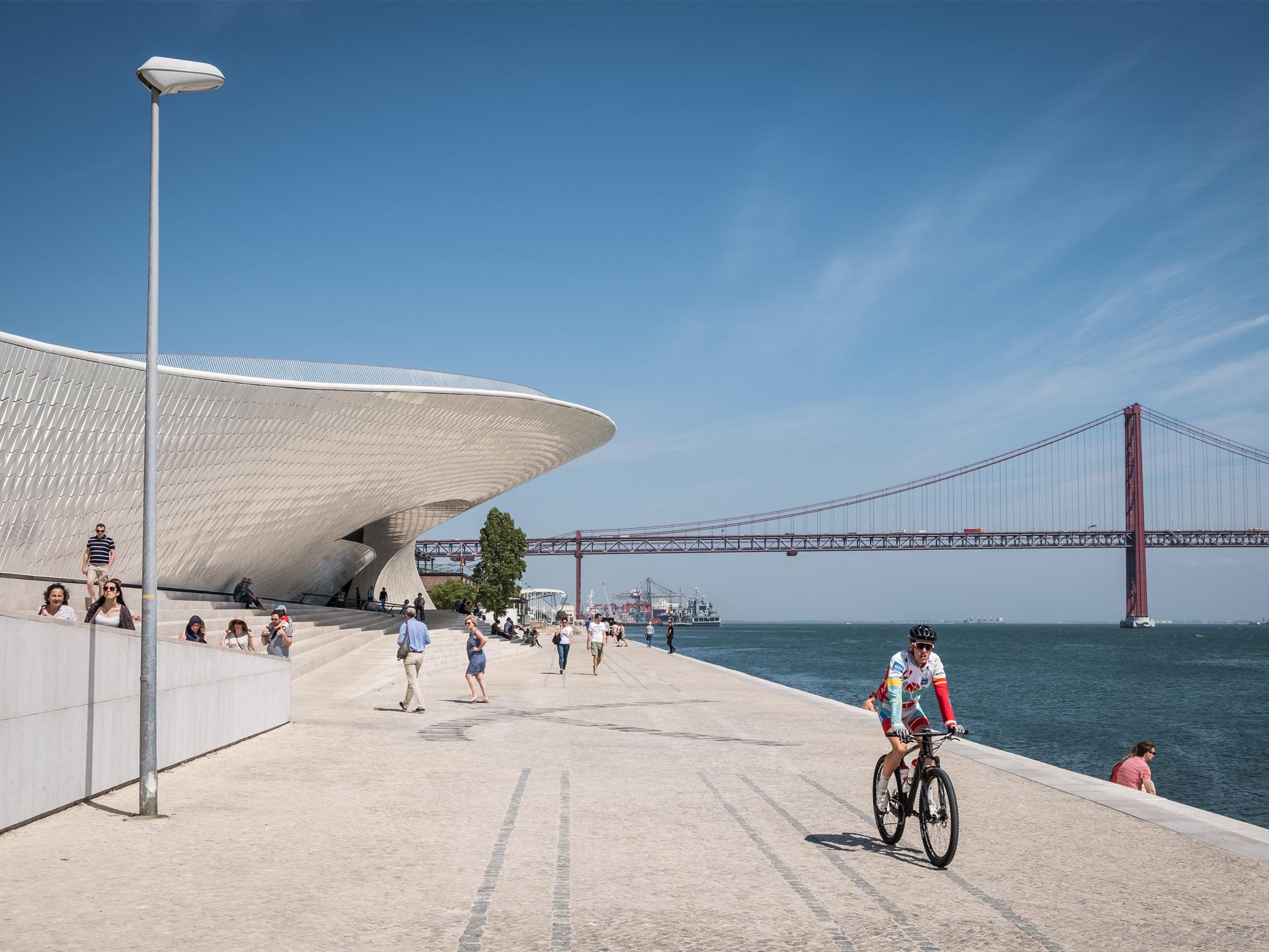 2. Conoce el museo más joven de la ciudad: MAAT - Museo de Arte, Arquitectura y Tecnología