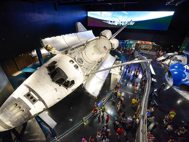 3. Centro de visitantes del Centro Espacial Kennedy