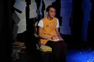 Jonás y sus libros voladores (Foto: Cortesía de la producción)