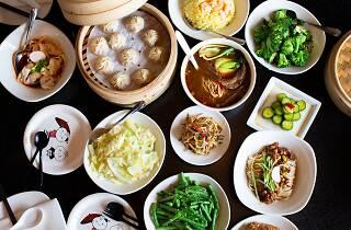 Din Tai Fung dumplings and dim sum at Westfield Century City