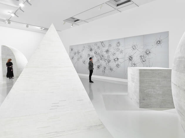 (Installation view of A Fairy Tale in Red Times: Works from the White Rabbit Collection. Photograph: Tom Ross.)