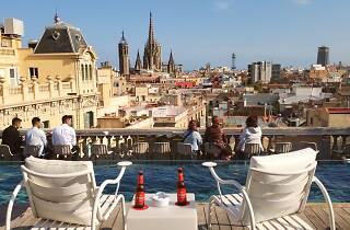 Ohla Chillout Terrace at Ohla Barcelona