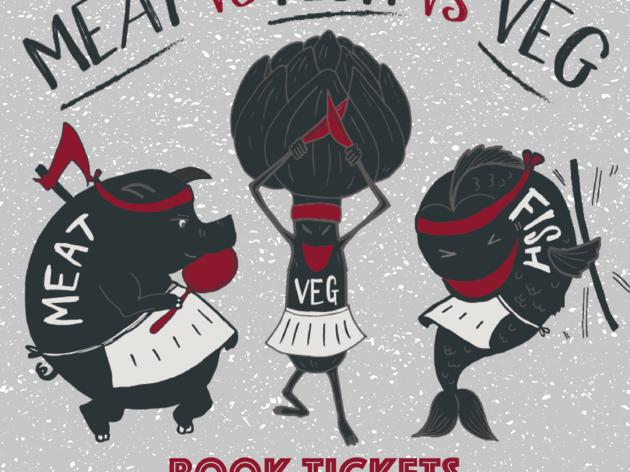 Meat vs Fish vs Veg
