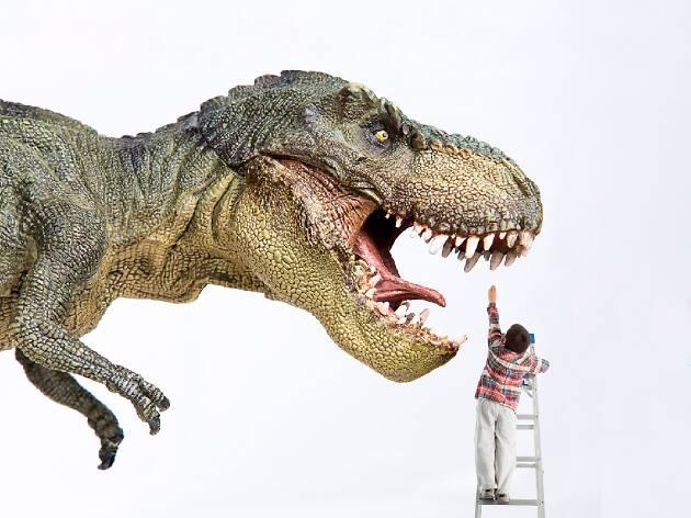 Dinoexpoertos en el Papalote