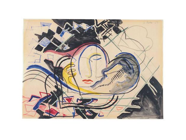 Sigmar Polke, Ohne Titel (Herzen) Untitled (Heart), 1969
