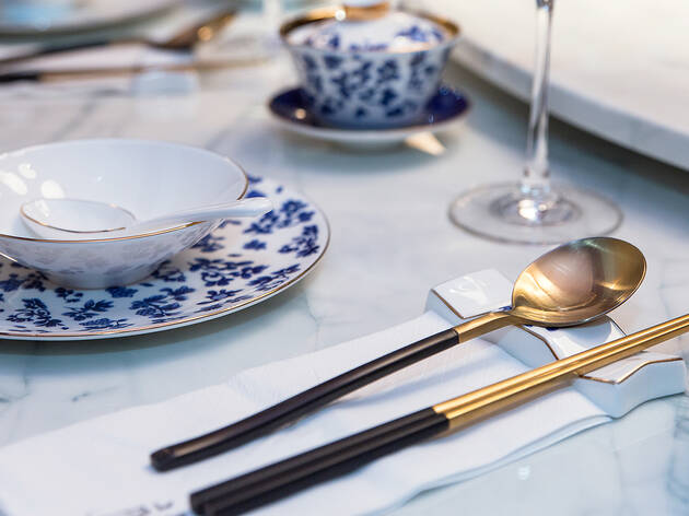 Lan Dining table setting (Photograph: Supplied)