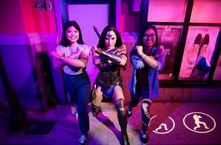 Wonder Woman at Madame Tussauds