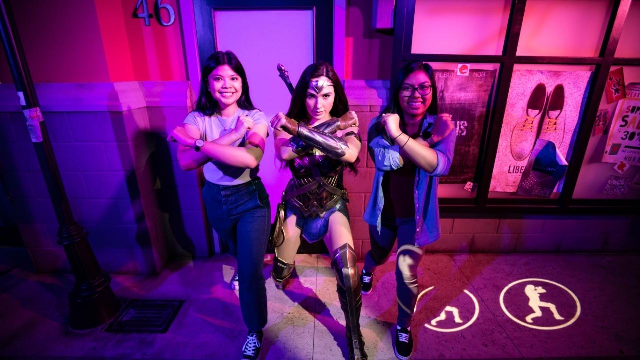 Wonder Woman at Madame Tussauds