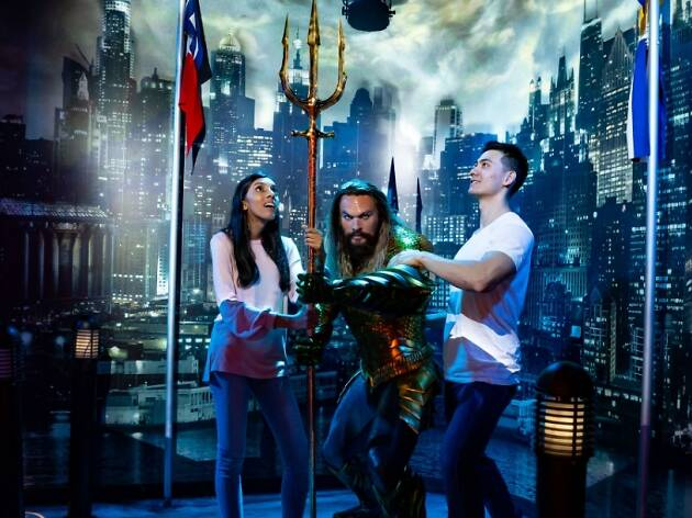 Aquaman at Madame Tussauds