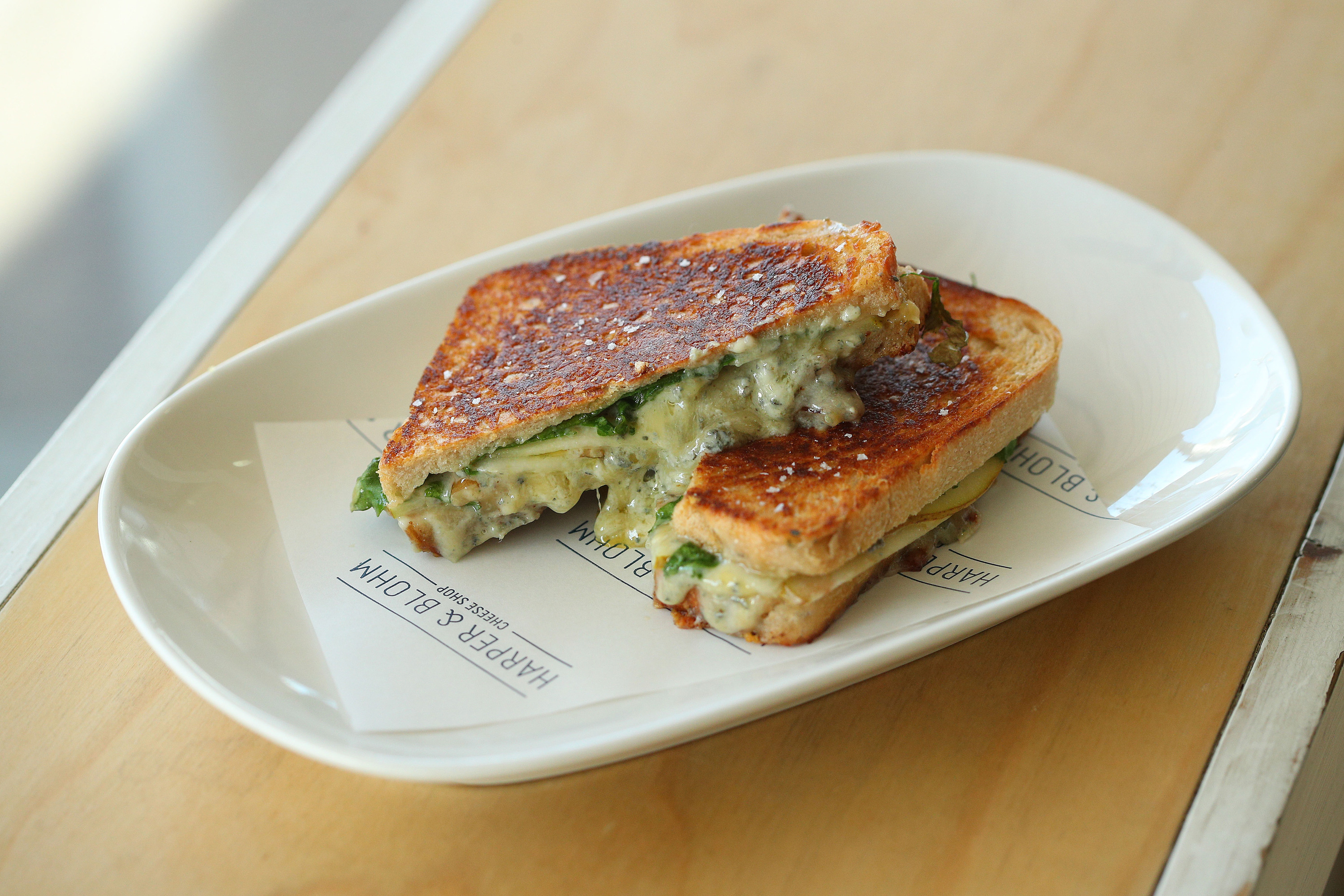A blue cheese toastie