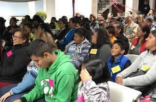 Público en una actividad de la Fundación Cultural Federico Hoth
