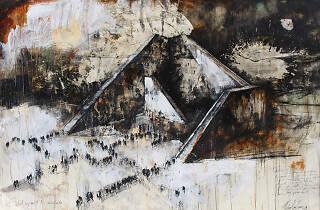 Gustavo Díaz Sosa - Serie 'Caminos divergentes, 2019.