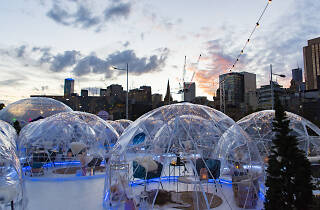 The Winter Village Igloos Federation Square 2019